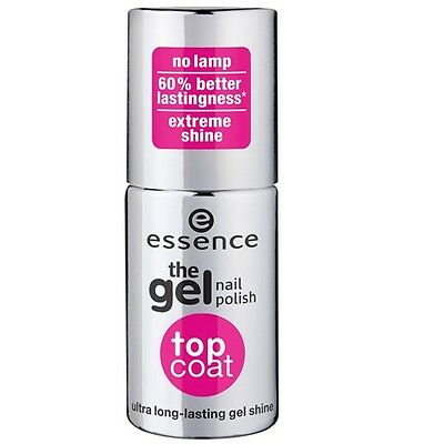 Essence - Vernis à ongles - The Gel Nail Polish - Top Coat ultra longlasting