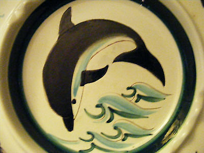 Stangl Sportsman Series Ashtray Porpoise Produced from 1955-1957