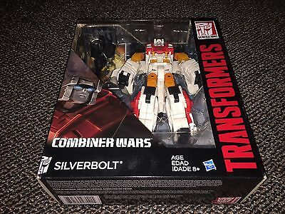 Transformers Generations Combiner Wars Voyager Class Silverbolt New In Box