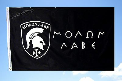 NEW 3x5 ft MOLON LABE SPARTAN 300 COME AND TAKE IT GREEK DONT TREAD ON ME FLAG
