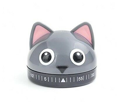 KITCHEN TIMER--CAT-- 60 minute Kitchen Timer by Kikkerland