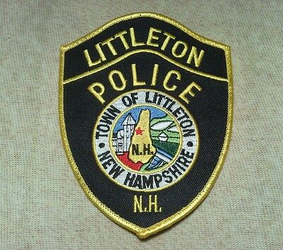 NH Littleton New Hampshire Police Patch