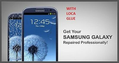 Samsung Galaxy S3 Cracked Screen Glass Repair Replacement Mail In Service