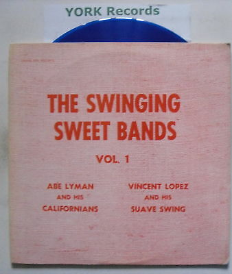SWINGING SWEET BANDS - Volume 1 - Ex LP **BLUE VINYL**