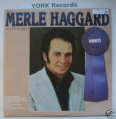 MERLE HAGGARD & THE STRANGERS - Winners - Mint LP