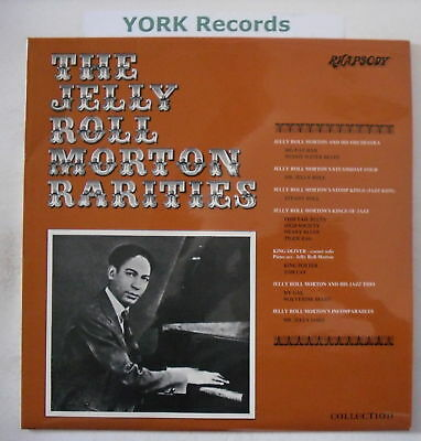 JELLY ROLL MORTON - Rarities - Excellent Con LP Record