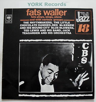 FATS WALLER - Plays Sings Alone & With Various Groups
