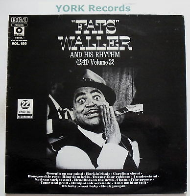 FATS WALLER & HIS RHYTHM - 1941 Vol 22 - Ex LP Record