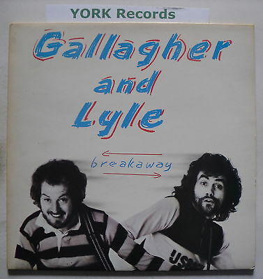 GALLAGHER & LYLE - Breakaway - Excellent Con LP Record
