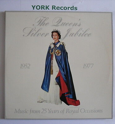 QUEENS' SILVER JUBILEE - Music From 25 Years of Royal Occasions - Ex Double LP