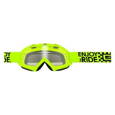 O'Neal Kinder B-Youth Goggle Neon Gelb Cross Brille RL Motocross MX DH Downhill