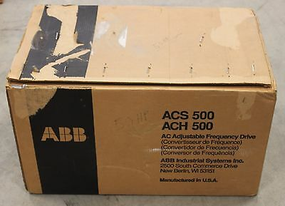 ABB ACH-501-050-4-L0P2 50HP AC Drive **NEW IN BOX**  ACH501050 ACH5010504LP2 500
