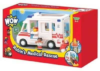 WOW Toys - Robin's Medical Rescue ambulance NEW kids child play toy