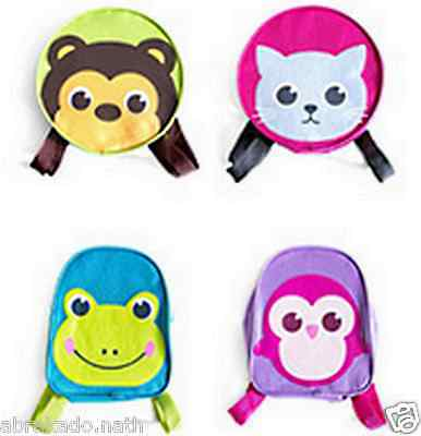 1 Sac A Dos Pour Enfant Animaux Chat Grenouille Pingouin Ours
