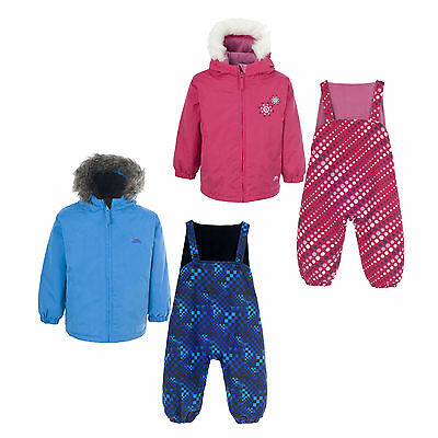 Trespass IGGLE Baby Boys Girls Waterproof Padded All In One Snow Suit Snowsuit