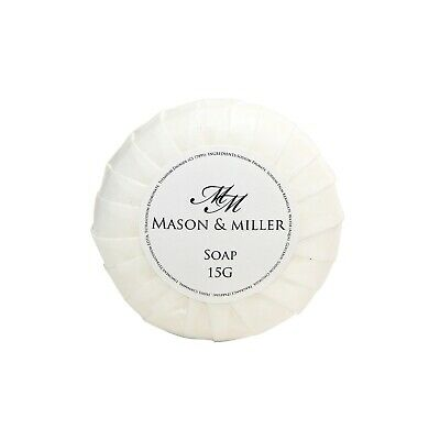 Mason & Miller Guest Travel Tissue Pleated Soap 15G X25