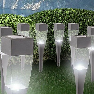 3er set solarleuchte gartenleuchte terrasse garten leuchte ip44 beleuchtung led. Black Bedroom Furniture Sets. Home Design Ideas