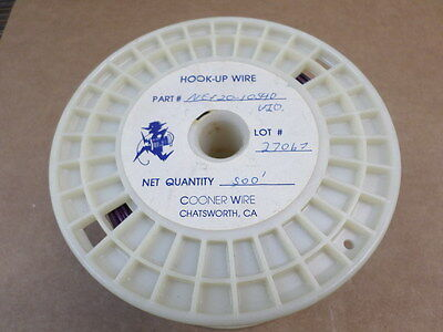 Cooner Wire NEF20-10540 Violet Hook Up Wire