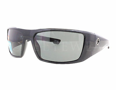 d9470d5b48 NEW Spy Optics Dirk 672052038864 Black   Happy Grey Green Polarized  Sunglasses