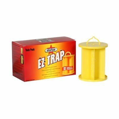 Starbar EZ Fly Trap Case of 2 Insecticide & Odor free Sticky Glue Insect Killer