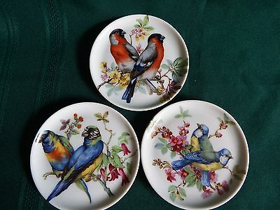 Bird Coasters – Royal Porzellan Bavaria KPM Germany Handarbeit