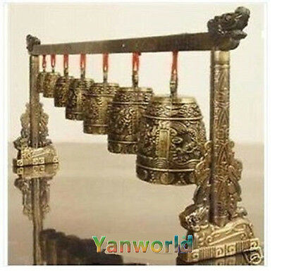 Hot ! Chinese Musical Instrument Bronze Dragon Bell