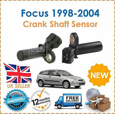 Fits Ford Focus 1.4 1.6 1.8 2.0 ZETEC RS ST170 1998 2004 Crank Shaft Sensor NEW!