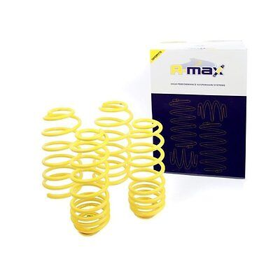 VW Golf MK4 4 Cyl. Excl. Td Skoda Octavia - A-max Lowering Spring Kit -45mm