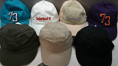 TIMBERLAND MENs BOY BASEBALL CAPs HATs BLACK NAVY WHITE TURQUOISE BEIGE S M L XL