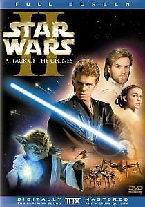 Star Wars Episode II: Attack of the Clones (DVD, 2002, 2-Disc Set, Full...