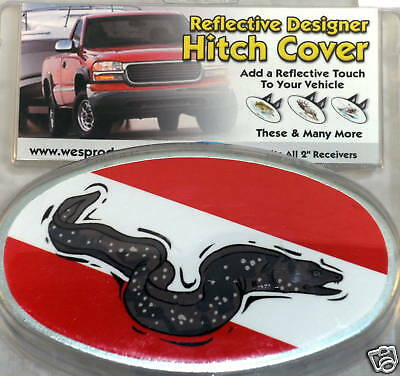 Tow Hitch Cover Scuba Diving Dive Swimming Eel New