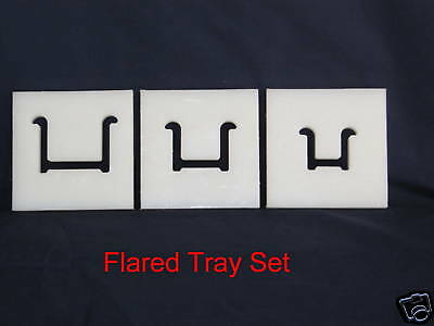 Flared Tray Die Set for Clay Extruder