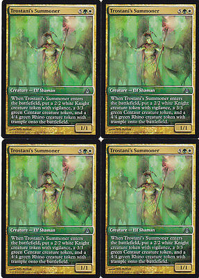 PROMO FULL ART Evocatrice di Trostani Trostani/'s Summoner MTG MAGIC DgM Ita