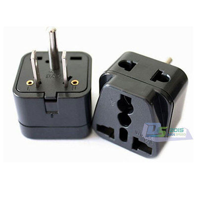 Universal International Charger World Travel AC Adapter Power UK / EU to US Plug