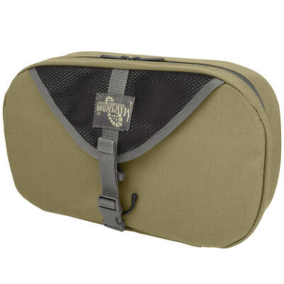 Maxpedition Hanging Mens Toiletry Wash Bag Foldable Military Travel Pouch Khaki