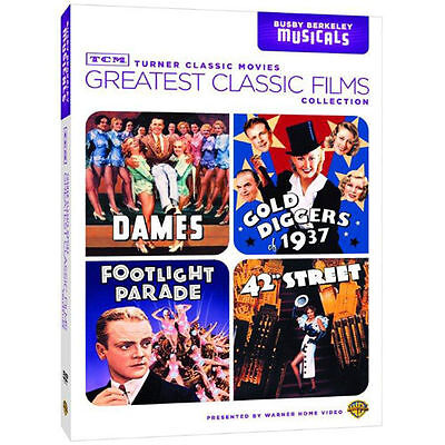 TCM Greatest Classic Films Collection: Busby Berkeley Musicals (DVD, 2010,...