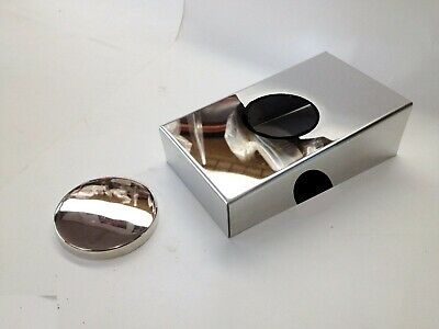 fits camaro firebird 1998-2002 stainless master cylinder cover w chrome cap