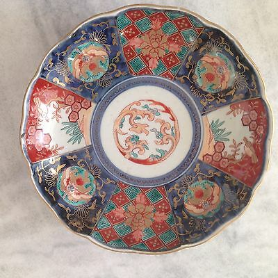 Antique IMARI Plate 150 Yrs Old Bought At The Tony Duquette Estate