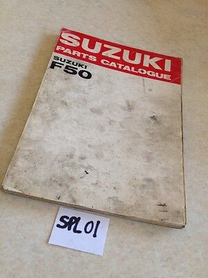 Suzuki parts list catalogue F50 F 50 ed. 1969
