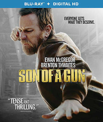 Son of a Gun - NEW Blu-ray - Ewan McGregor, Brenton Thwaites, Alicia Vikander