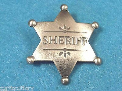 SHERIFF obsolete antique star badge replica MI3018 NEW