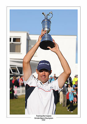 Padraig Harrington British Open Champion 2008  A4 Print Photo Golf