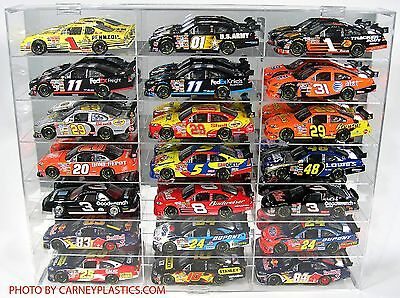 NASCAR 1:24 Diecast Display Case 21 Comp. fits Action
