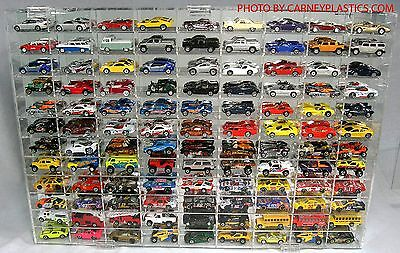 Matchbox Diecast Display Case 108 COMP 1/64 scale