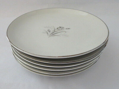 6 bread butter plates Royal Elegance by Creative fine china Japan roses