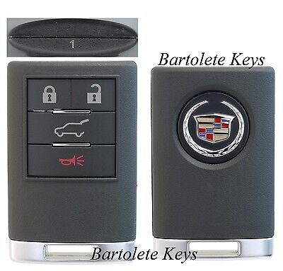 OEM 4 Buttons Keyless Entry Remote Driver #1 Fits 2008 2009 2010 Cadillac CTS