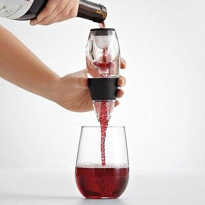 Magic Decanter Essential Red White Wine Sparkling Champagne Aerator Filter • AUD 14.99