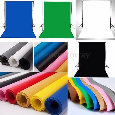 1.5m x 1m Photography Photo Studio Backdrop 100% Cotton Muslin Background Screen