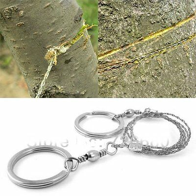 Steel Wire Saw Bushcraft Army Commando Emergency Camping Hunting Survival Tools