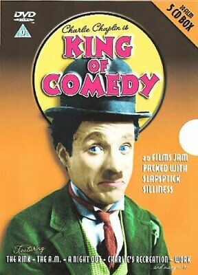 Charlie Chaplin Is King Of Comedy [DVD] - DVD  YMVG The Cheap Fast Free Post